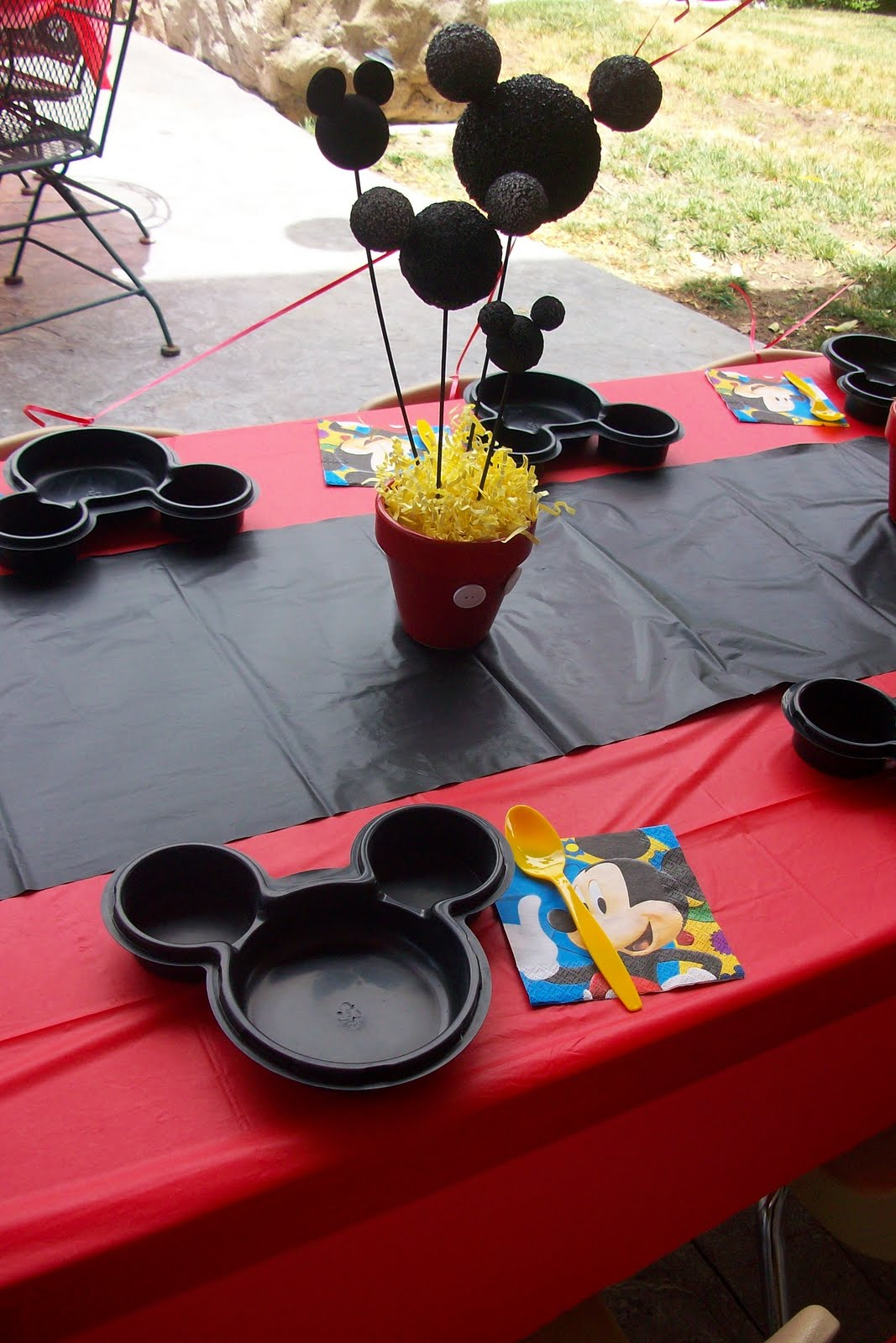 The Blairs A Mickey Mouse 2nd Birthday Party